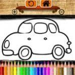 Coloriage de voitures enfants