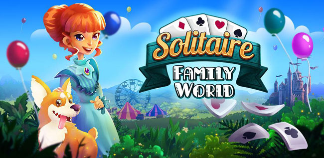 solitaire family world jeu