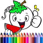 Coloriage de légumes