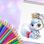 Petits animaux à colorier