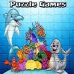Puzzle Cartoon Kids Games